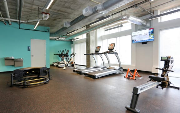State Of The Art Fitness Center at The George & The Leonard, Atlanta