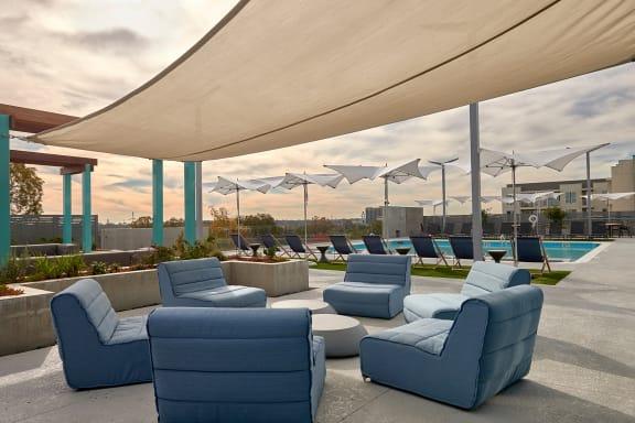 Rooftop Deck at The George & The Leonard, Atlanta, GA