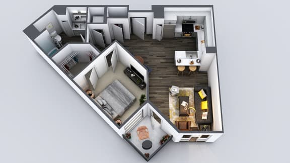Floor Plan  Be DTLA|c1|2x2|1042 - 1218 sf
