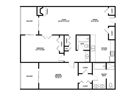 Alameda Floor Plan