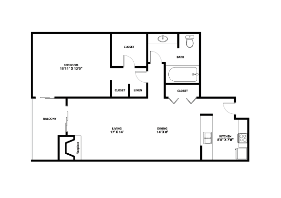 Osage Floor Plan