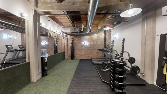 Fitness Center at the Lofts at Gin Alley, Chicago, IL 60607