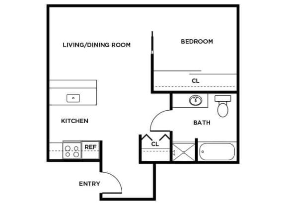 Floor Plan  A6 Floor Plan