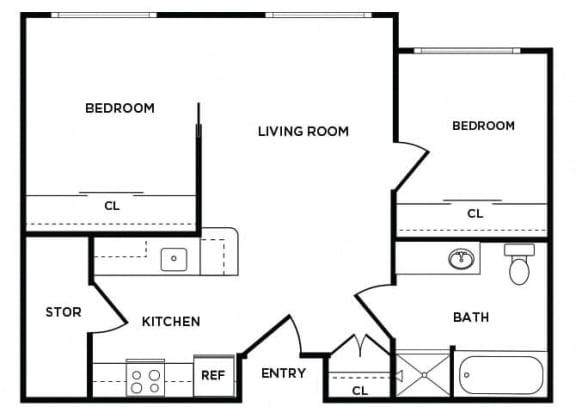 Floor Plan  B1 floor plan