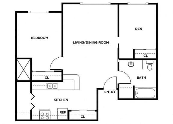 Floor Plan  A14D floor plan, opens a dialog