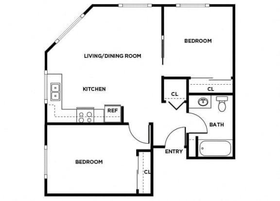 Floor Plan  B6 floor plan, opens a dialog
