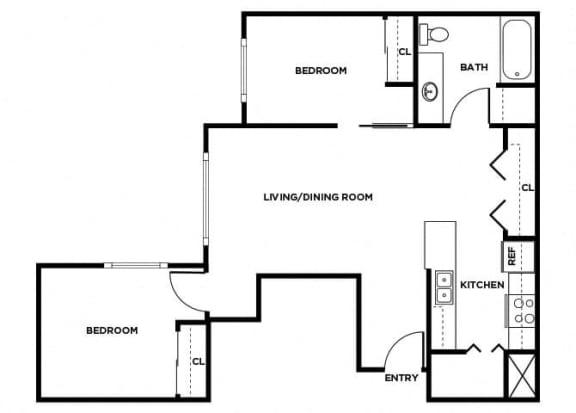Floor Plan  B7 floor plan, opens a dialog