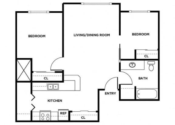Floor Plan  B9 floor plan