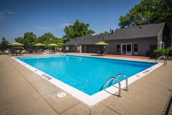 Glimmering Pool at Woodbridge Apartments, Louisville, KY