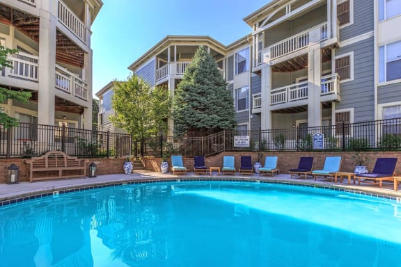 Extensive Resort Inspired Pool Deck at Altitude at Blue Ash, Blue Ash, OH, 45242