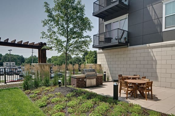 Pergola Lounge And Grilling Stations at Marq on Main, Lisle, 60532
