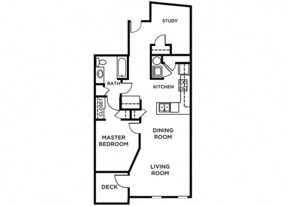 Floor Plan  Orcas Floor Plan at The Pacifica, Tacoma