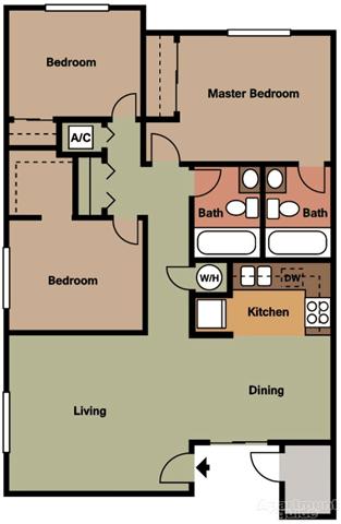Three bedroom apartments in Temecula CA