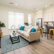 Modern Living Room at Clovis Point, Longmont, CO, 80501