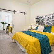 Apartment Master Bedroom at Clovis Point, Longmont, Colorado