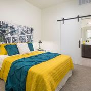 Spacious Bedroom With Comfortable Bed at Clovis Point, Longmont