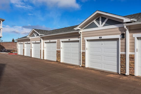 Detached Garages at Colorado Springs Apartments for Rent 80924