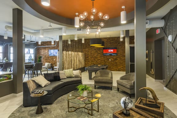 Upscale Resident Clubhouse at Colorado Springs Apartments Near Me