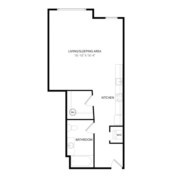 Aventine Apartments Genova Floor Plan