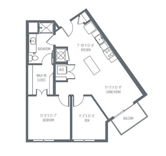 Floor Plan  C5 Floor Plan at Union Berkley, Kansas City, Missouri, opens a dialog