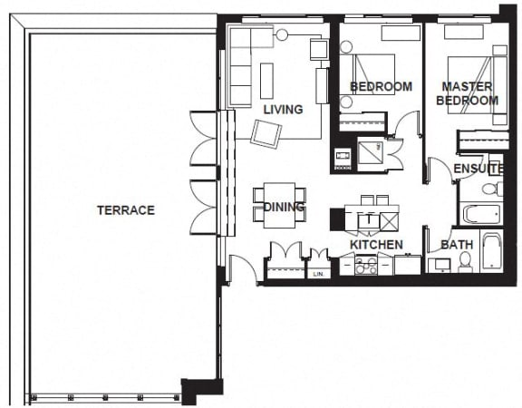 Floor Plan  W-3405 FloorPlan at VERSUS, Calgary, AB