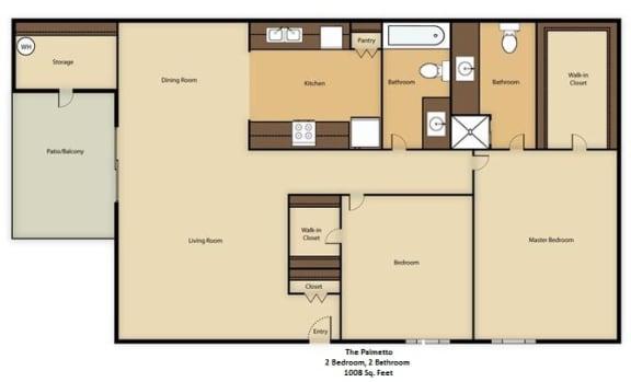 Floor Plan  The Palmetto