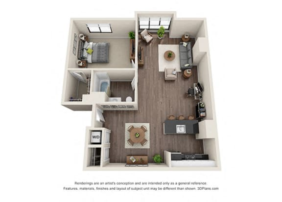 ONE BEDROOM | ONE BATH A9.1