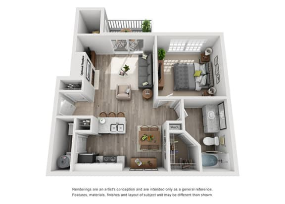 Floor Plan  A1.1A