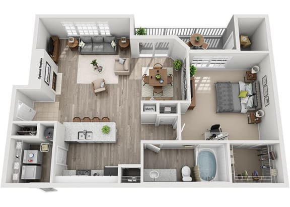 Floor Plan  A3.1a