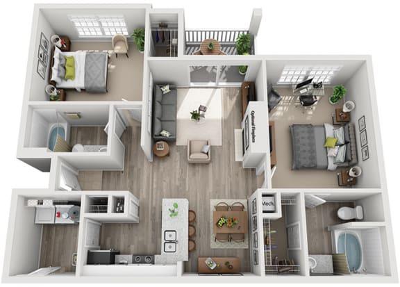 Floor Plan  B2.2ar