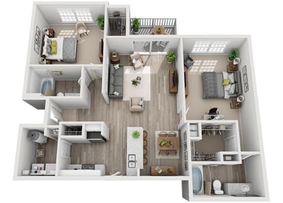 Floor Plan  B3.2ar