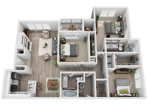 Floor Plan  C2.3a