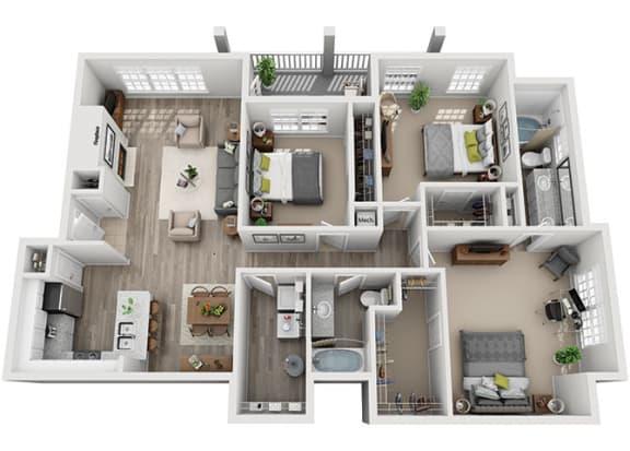 Floor Plan  C3.3a