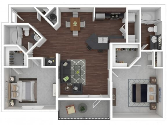 Floor Plan  Hawthorn Floor Plan| Cypress Legends