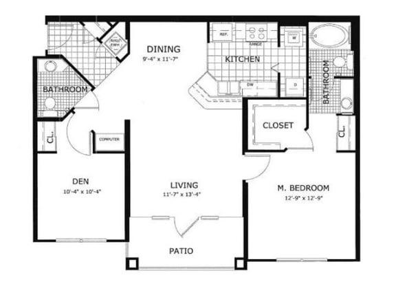 Poplar Floor Plan| Cypress Legends