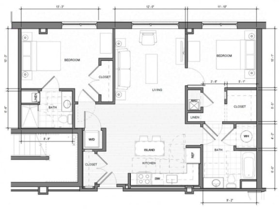 BR-J-Level-1 Floor Plan| Merc