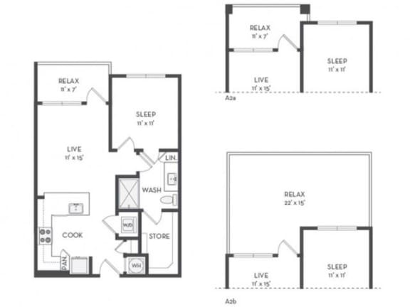 A1 Floor Plan |District of Rosemary