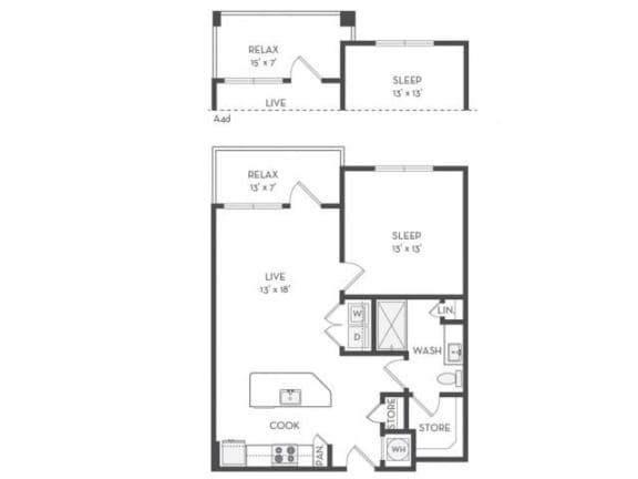 A3 Floor Plan |District of Rosemary
