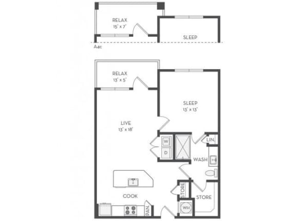 A4 Floor Plan |District of Rosemary