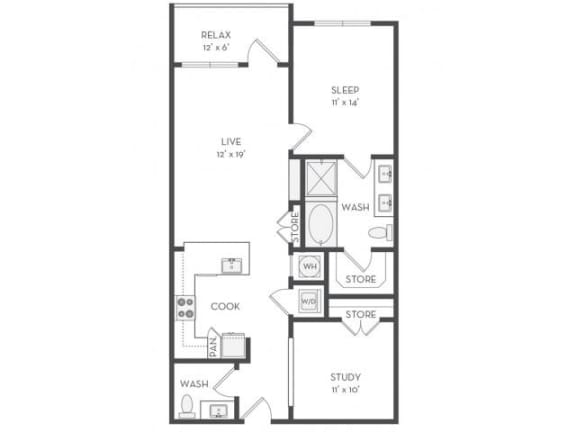 A9S Floor Plan |District of Rosemary