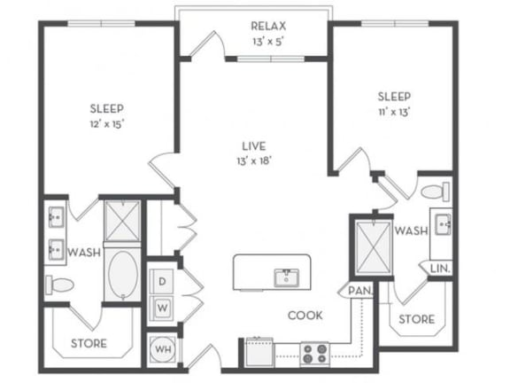 B1 Floor Plan |District of Rosemary