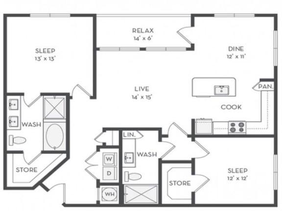 B4 Floor Plan |District of Rosemary