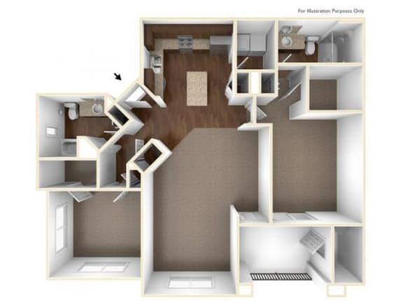 Floor Plan  2A Floor Plan| Villas at San Dorado