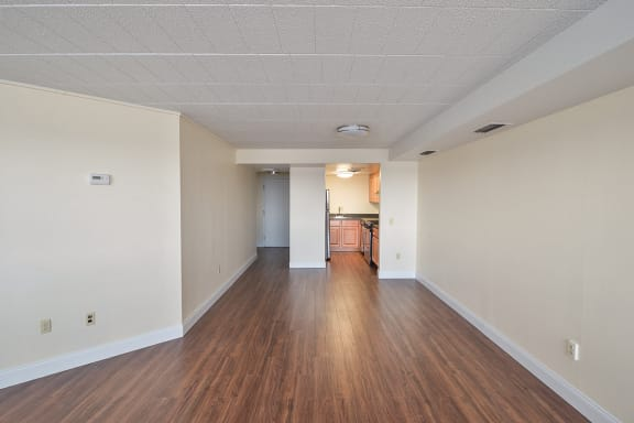 hardwood flooring at Walnut Towers at Frick Park, Pittsburgh, PA 15217