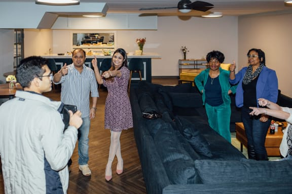 Social Rooms and Resident Events