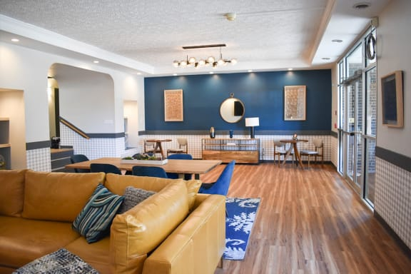 Stylish Lobby Lounges, Walnut Crossings Apartments, Monroeville, PA