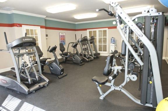 Fitness center at Sterling Magnolia, North Carolina, 28211