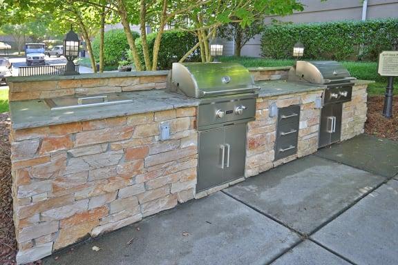 Grilling Station at Sterling Magnolia Apartments, North Carolina