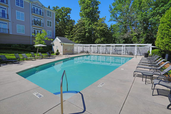Glimmering Pool at Sterling Magnolia Apartments, Charlotte, NC, 28211