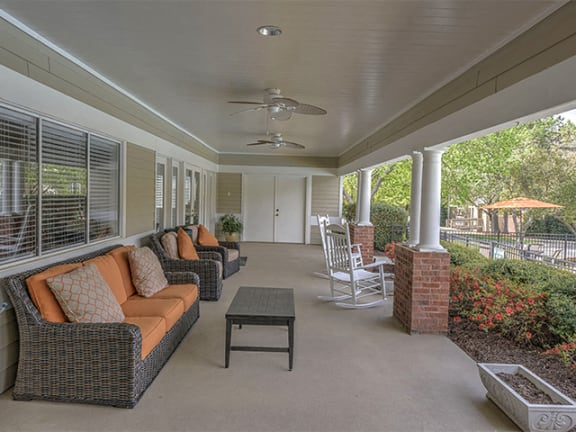 Poolside Lounge at Cambridge Apartments, Raleigh, 27615